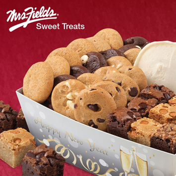 2015-2016 Free Mrs. Fields® Sweet Treat with purchase campaign.