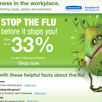 Flu Fighters campaign.