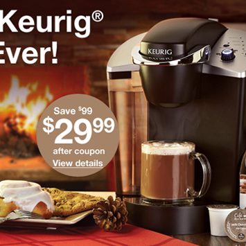 December Keurig® promotion.