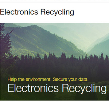 Electronics Recycling Program