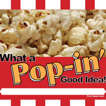 Pop-in Pocorn Wrapper.